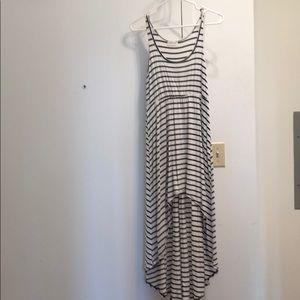 Poetry Midi Striped Dress